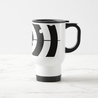 Target Practice 15 Oz Stainless Steel Travel Mug