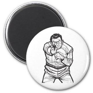 Target Practice 2 Inch Round Magnet