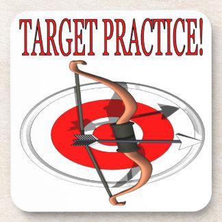 Target Practice Beverage Coaster
