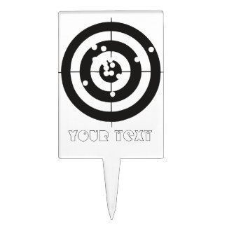Target Practice Cake Topper