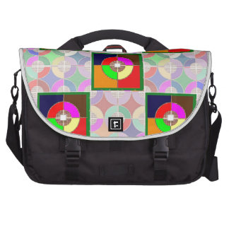 TARGET Practice: Colorful Graphic Symbol Gifts FUN Commuter Bags
