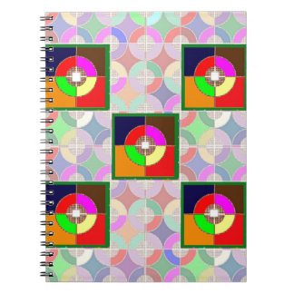 TARGET Practice: Colorful Graphic Symbol Gifts FUN Note Book