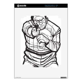 Target Practice Decal For The iPad 2