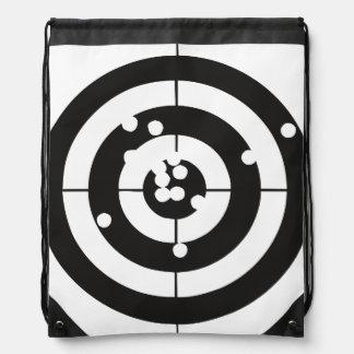 Target Practice Drawstring Bag