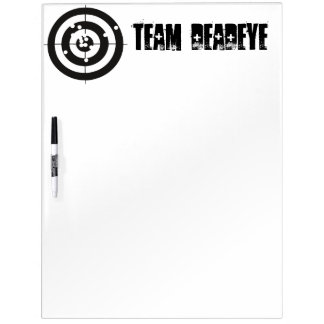 Target Practice Dry Erase Board