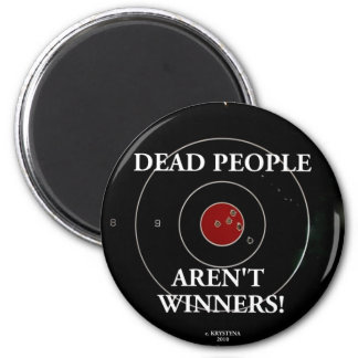 TARGET PRACTICE FUNNY PHRASES 1 2 INCH ROUND MAGNET
