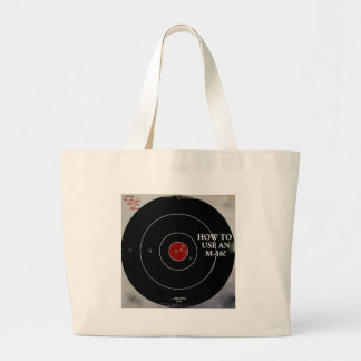 TARGET PRACTICE FUNNY PHRASES 1 TOTE BAG