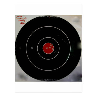 TARGET PRACTICE FUNNY PHRASES 1 POSTCARD
