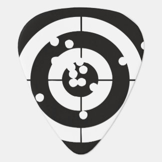 Target Practice Guitar Pick