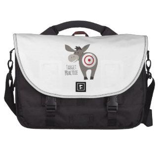Target Practice Laptop Messenger Bag