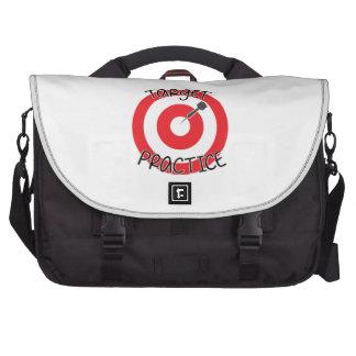 Target Practice Laptop Bags