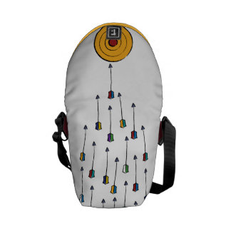 Target Practice Courier Bags