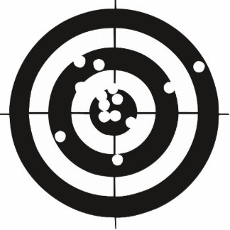 Target Practice Photo Cut Outs