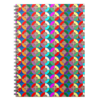 TARGET Practice Symbol Graphic Colorful ART Gifts Notebooks