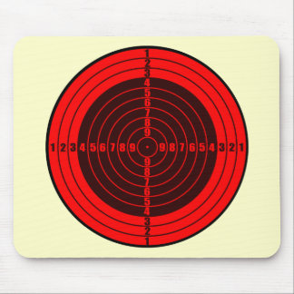 target red mousepads