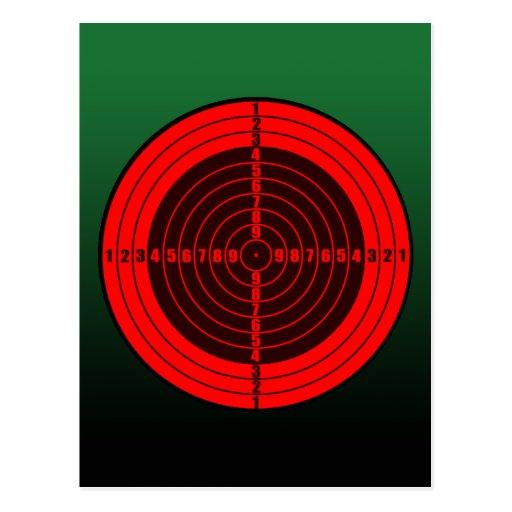 target red postcard