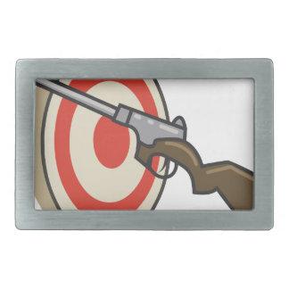 Target Shoot Belt Buckle