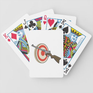 Target Shoot Bicycle Playing Cards