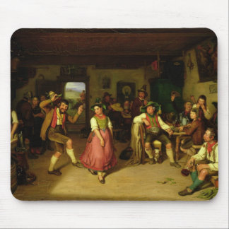 Target Shooting and Dancing in Oberbayern, 1841 Mouse Pad