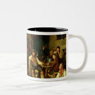 Target Shooting and Dancing in Oberbayern, 1841 Two-Tone Coffee Mug