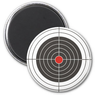 Target shooting for gun, rifle or firearm shooter 2 inch round magnet