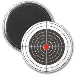 Target shooting for gun, rifle or firearm shooter fridge magnet