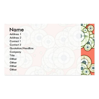 Target sights Double-Sided standard business cards (Pack of 100)