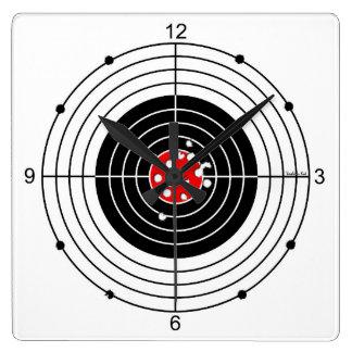 target square wall clock