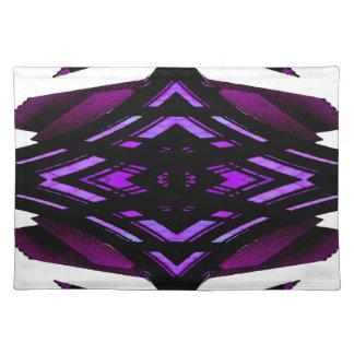 Target Style Magenta Urban Futurism Design Cloth Placemat