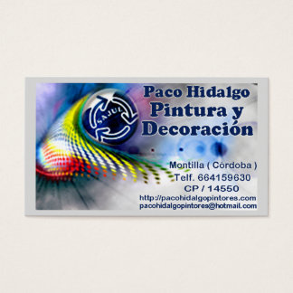 Targetas Exclusive Presentation Business Card