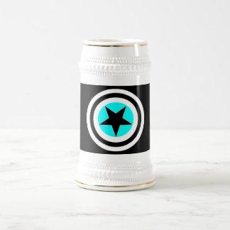Targeted Pentagram Beer Stein