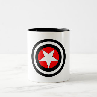 Targeted Pentagram Two-Tone Coffee Mug