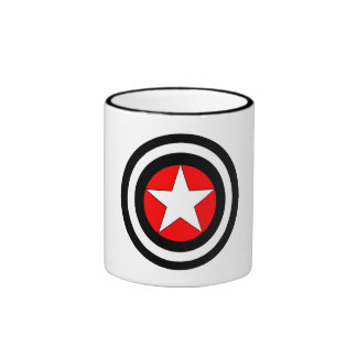 Targeted Star Ringer Mug