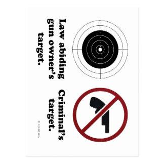 Targets Postcard