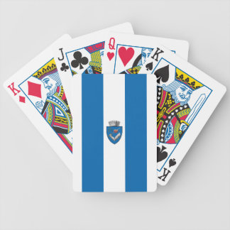 Targu_Mures_Flag Bicycle Playing Cards