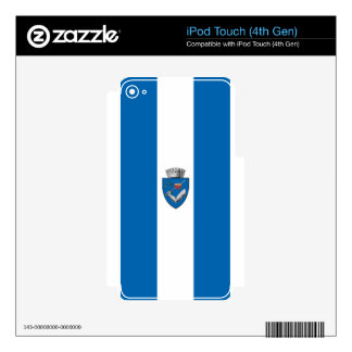 Targu_Mures_Flag Skin For iPod Touch 4G