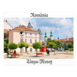 Târgu-Mureş, România Postcard