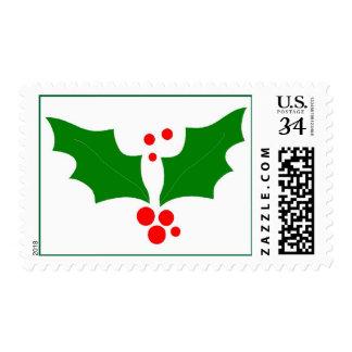 Tarifa de la postal de los saludos de Navidad Timbres Postales