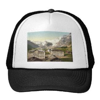 Tarifa de Saas, los hoteles, Valais, montañas de,  Gorros Bordados