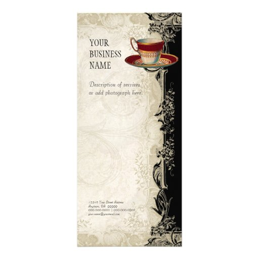 Tarifa oficial del negocio - cordón barroco del vi lona publicitaria