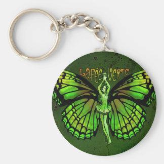 Tarifa Verte del La con las alas extendidas Llavero