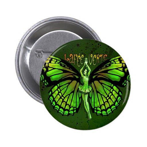 Tarifa Verte del La con las alas extendidas Pin Redondo 5 Cm