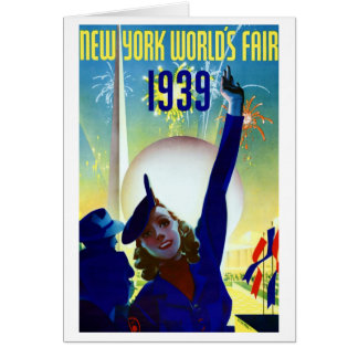 Tarjeta 1939 de la feria de mundo de Nueva York #2