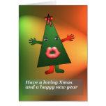 Tarjeta 1 del beso de Navidad de Anjo Lafin