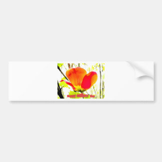 tarjeta 1 del día de madres etiqueta de parachoque