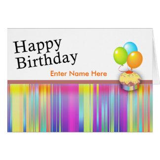 Tarjeta 1 del feliz cumpleaños