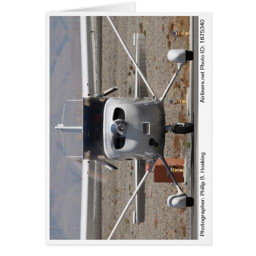 Tarjeta 2008 de nota de la foto del SP de Cessna 1