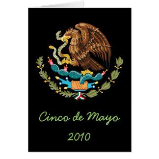 Tarjeta 2010 de felicitación de Cinco de Mayo del