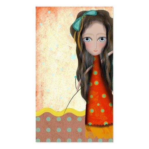 tarjeta 2012 de visita de la textura de la muñeca  tarjetas de visita