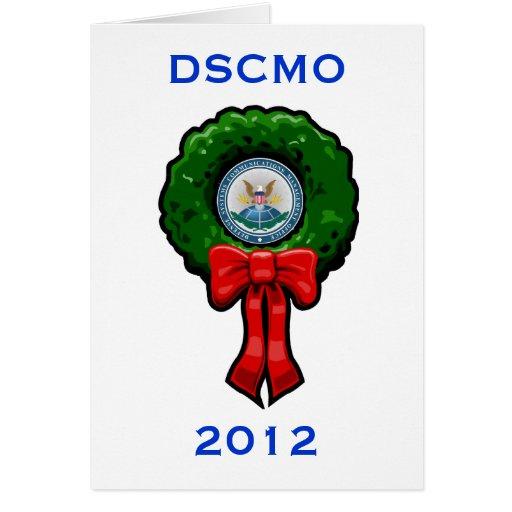 Tarjeta 2012 del día de fiesta de DSCMO